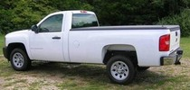 2007*-Current Chevy Silverado Std/Ext/Crew 1500-2500hd, 8ft Long Bed (will not fit dually) Undercover Classic Tonneau Cover