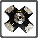 1993-1997 Toyota Supra Unorthodox Racing Race Pro Clutch Kit (Solid Hub 4-Puck Disc)