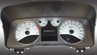 06-08 Hummer H3 US Speedo Gauge Faces - Daytona GA (Silver)