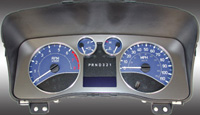 06-08 Hummer H3 US Speedo Gauge Faces - Daytona GA (Blue)