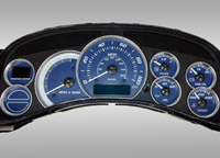 Chevrolet Avalanche Gauge Faces at Andy's Auto Sport