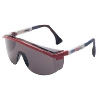 2007-9999 Honda Fit Uvex Astrospec 3000® Patriots RWB Safety Glasses With Grey Lens