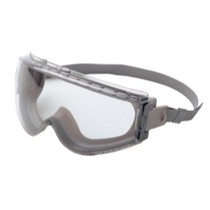 1965-1967 Ford Galaxie Uvex Stealth® Gray Frame Safety Goggles With Clear Lens