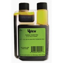 1984-1986 Ford Mustang UVIEW Radiator Coolant Dye - 8 oz. Bottle