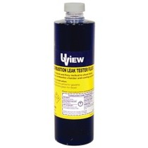 1966-1970 Ford Falcon UVIEW Combustion Leak Check Test Fluid - 16 oz. Bottle