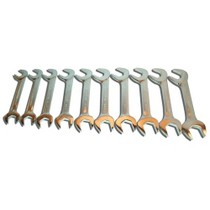 1980-1983 Honda Civic V-8 Tools 10 Piece Jumbo Angled Wrench Set