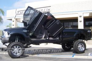 Ford F250 Vertical Doors At Andy S Auto Sport