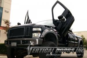 99-10 Ford F350/F250/Superduty Vertical Doors Inc Bolt-On Lambo Door Kit