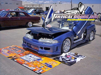 90-93 Acura Integra 3/4DR Vertical Doors Inc. Vertical Doors - & Vertical Doors for Acura Integra at Andyu0027s Auto Sport