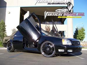 00-06 Deville Vertical Doors Inc Lambo Doors - Direct Bolt On Kit & Cadillac Deville Vertical Doors at Andyu0027s Auto Sport