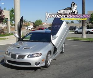 04-06 GTO Vertical Doors Inc Lambo Doors - Direct Bolt On Kit & Pontiac GTO Vertical Doors at Andy\u0027s Auto Sport