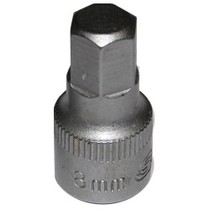 Universal (All Vehicles) Vim Products Soc 8Mm 1/4D Hex 6Pt Male