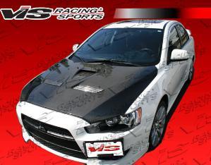 Mitsubishi Lancer Carbon Fiber Hoods at Andy's Auto Sport