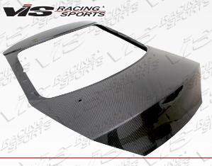 2007-9999 Honda Fit VIS Carbon Fiber Hatch - OEM Style