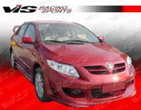 2009-2010 Toyota Corolla VIS Racing Cyber Body Kit