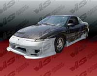 1991-1996 Saturn Sc VIS Racing Strada F2 Body Kit