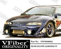 95-99 Mitsubishi Eclipse Vision Fender Flares - Quwhees (Front)
