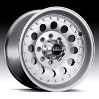 02-09 Avalanche Lifted (8 lug), 92-09 Suburban Lifted (8 lug), 70-97 F-350 non-Dually, 88-09 Silverado Lifted (8 lug), 92-09 Van E-250, 70-97 F-250 2WD, 07-09 Van E-150, 71-87 Pickup 2WD 3/4 Ton, 94-09 Ram 2500 4WD Lifted Vision Mohave 71 RWD  Machined Clear Coat