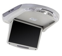 2008-9999 Mini Clubman Vission  MOTORIZED Overhead Monitor DVD Player (10.2 inch, Gray)
