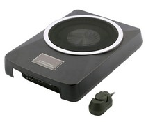 All Jeeps (Universal), All Vehicles (Universal) Vission  Super Compact Aluminum Alloy Self Powered Subwoofer