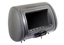 2008-9999 Mini Clubman Vission  LED Replacement Headrest DVD Video Game Entertainment System (7  inch)