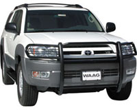 2003-2009 Toyota 4Runner WAAG Grill Guards - Front (3pc)