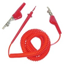 1997-2002 Mitsubishi Mirage Waekon Industries Hi-Vizz Red Jump Lead 20 ft.
