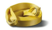 For Use with Winching or Towing Products Warn® Premium Recovery Strap - 3 in X 30 ft
