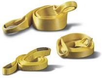 For Use with Winching or Towing Products Warn® Recovery Strap - 2 in X 8 ft - Rated to 14,400lbs/6,531kgs