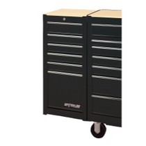 2001-2003 Honda Civic Waterloo 6 Drawer Black Side Cabinet