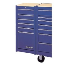 1954-1958 Plymouth Plaza Waterloo 6 Drawer Blue Side Cabinet