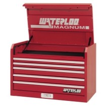 "1998-2000 Mercury Mystique Waterloo 36"" Magnum® 5 Drawer Chest - Red"