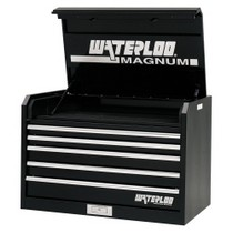 "2002-2006 Harley_Davidson V-Rod Waterloo 36"" Magnum® 5 Drawer Tool Chest - Black"