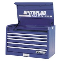 "2001-2003 Honda Civic Waterloo 36"" Magnum® 5 Drawer Tool Chest - Blue"
