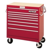 "1973-1991 Chevrolet Suburban Waterloo 36"" Magnum® 8 Drawer Tool Cart - Red"