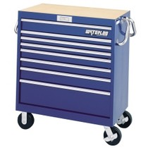 "1998-2000 Mercury Mystique Waterloo 36"" Magnum® 8 Drawer Tool Cart - Blue"