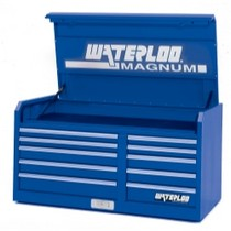 "1998-2000 Mercury Mystique Waterloo 46"" Magnum® 10 Drawer Tool Chest - Blue"