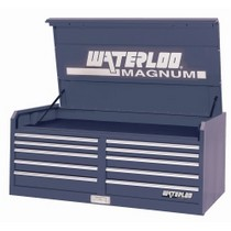 "1998-2000 Mercury Mystique Waterloo 56"" 10 Drawer Magnum® Series Blue Chest"