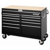 1954-1958 Plymouth Plaza Waterloo 12 Drawer Black Magnum® Series Tool Cart