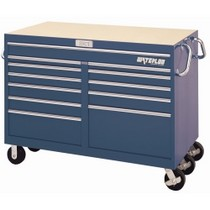 1954-1958 Plymouth Plaza Waterloo 12 Drawer Blue Magnum® Series Tool Cart