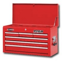 "1998-2000 Mercury Mystique Waterloo 26"" 6 Drawer Ball Bearing Chest, Red"