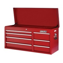 "1964-1967 Chevrolet El_Camino Waterloo 41"" ProMaxx 7 Drawer Tool Chest - Red"