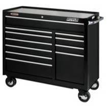 "1964-1967 Chevrolet El_Camino Waterloo Pro Maxx 41"" 11 Drawer Black Tool Cabinet"
