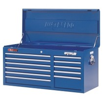 "1964-1967 Chevrolet El_Camino Waterloo 40"" Traxx® 11 Drawer Tool Chest - Blue"