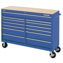 "1964-1967 Chevrolet El_Camino Waterloo 60"" Traxx® 13 Drawer Tool Cart - Blue"