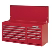 "1964-1967 Chevrolet El_Camino Waterloo 40.5"" Pro Series 11 Drawer Chest - Red"