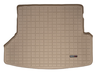 2006-2010 Ford Explorer 2 piece cargo liner. Behind 2nd seat, w/ 3rd row seating, 2006-2011 Mercury Mountaineer Behind 2nd seat w/ 3rd seat only - 2 piece cargo liner Weathertech Floormats - Cargo Liners (Tan)
