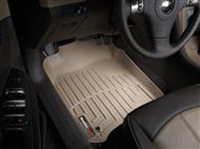 2001-2006 BMW 330xi, 2001-2005 BMW 325xi 3rd row FloorLiners fit Hybrid and gas models. Weathertech Rubber Floormats - Front FloorLiner (Tan) - Digital Fit