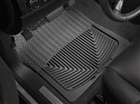 2006-2011 Mercury Mountaineer, 2002-2005 Ford Explorer, 2003-2005 Lincoln Aviator, 2002-2005 Mercury Mountaineer, 2006-2010 Ford Explorer Weathertech Rubber Floormats - Front (Black)