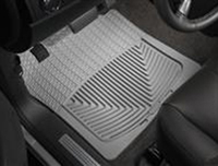2006-2011 Mercury Mountaineer, 2002-2005 Ford Explorer, 2003-2005 Lincoln Aviator, 2002-2005 Mercury Mountaineer, 2006-2010 Ford Explorer Weathertech Rubber Floormats - Front (Grey)